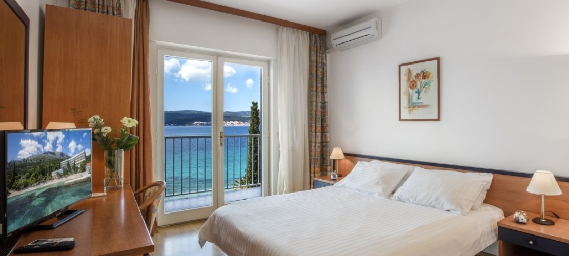 Double Room with balcony Sea view/Dvokrevetna soba s balkonom pogled more, Double Room with balcony Sea view/Dvokrevetna soba s balkonom pogled more